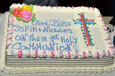 Sophia & Nicholas Holy Communion April 29th , 2017