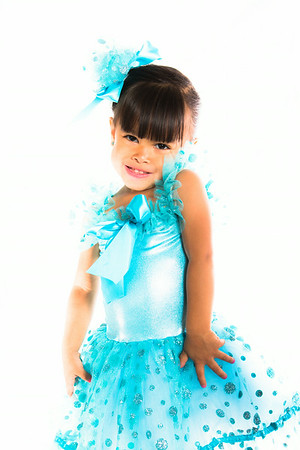 Sophia and Her Dance Outfit