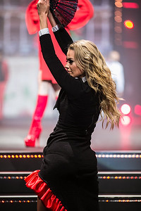 Sophie Atkins at the Clothes Show Live 2015