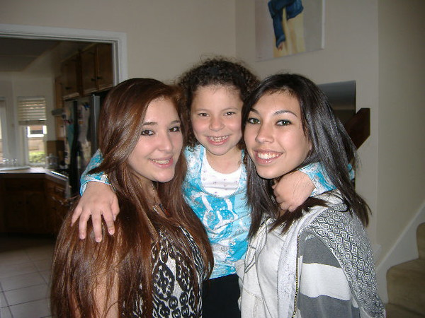 Sophie, Jessica and Jasmine - March 2010