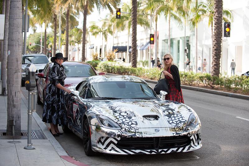 Sophie Picciotto, Monika Ekiert spotted in Beverly Hills