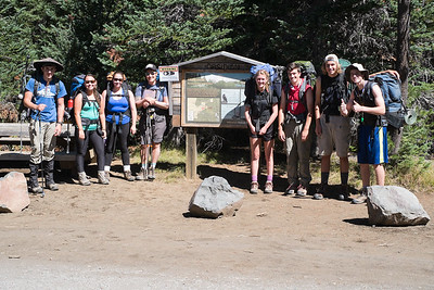 Sophomore Backpacking 2015