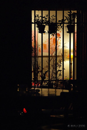 """Ventana a la oscuridad"" - De la serie del Café Babel hace una semana.<br /> <br /> ""Window to darkness"" - From the Café Babel series a week ago."