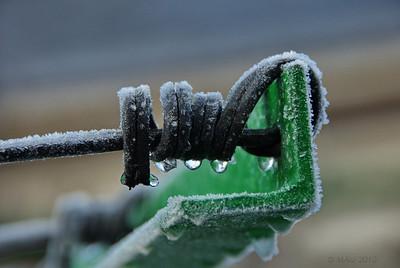"""13-12-2010  """"Hace un par de semanas hizo bastante frío""""  """"It was quite cold a couple of weeks ago"""""""
