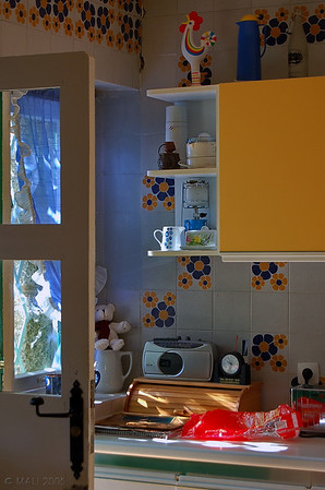 "23-1-2011<br /> <br /> ""Un rincón de la cocina""<br /> <br /> ""A corner in the kitchen"""
