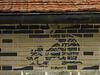 """07-4-2011<br /> <br /> """"El duende de las flores"""" - No es graffiti, es la 'decoración' sobre el dintel de la puerta principal de una casita de mi pueblo.<br /> <br /> """"The goblin of the flowers"""" -  It is not graffiti, it's the 'decoration' above the lintel of the main door of a little house in my town."""