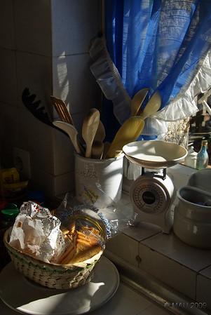 Un rincón de la cocina - A corner in the kitchen