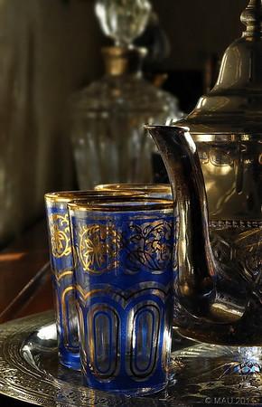 """14-2-2011<br /> <br /> """"Juego de té moruno""""<br /> <br /> """"Moorish tea set"""""""