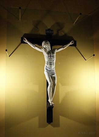 Cristo de Benvenuto Cellini en el Monasterio de San Lorenzo de El Escorial