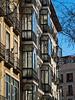 """16-Feb-2012<br /> <br /> """"Miradores"""" - Hecha esta mañana en la Glorieta de Bilbao en Madrid. (Siempre mejor en grande)<br /> <br /> """"Windowed Balconies"""" - Taken this morning at Bilbao Square in Madrid. (Always better at a large size)"""