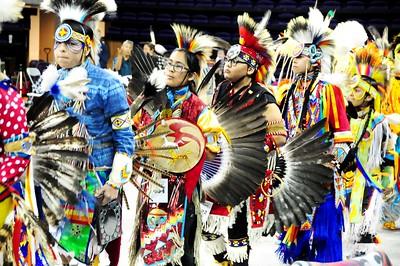 4-10-15 U Village and Pow Wow at UW
