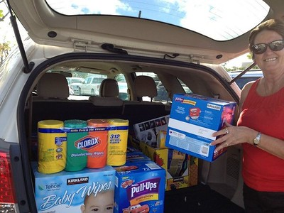 Thora and Nelly went shopping at Honolulu Costco to shop for items for women's shelter with money SI Vista members pledged. $350 worth of supplies were donated on behalf of our Club. Good Job everyone!