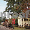 Late Fall Early Christmas Season at the Kappa Alpha Theta House at Ole Miss
