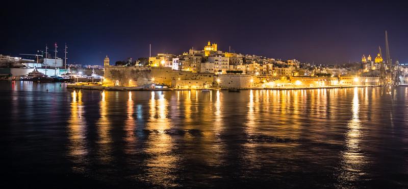 Malta at Night 2014