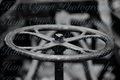 Rusted Steering Wheel