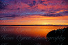 Sunset over Victoria Island