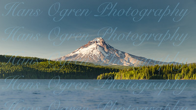 Mount Hood in Summer over Timothy Lake