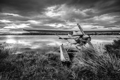 Lake Hood (monochrome)