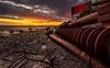 Iron sunset