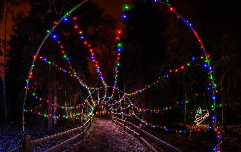 Festive path