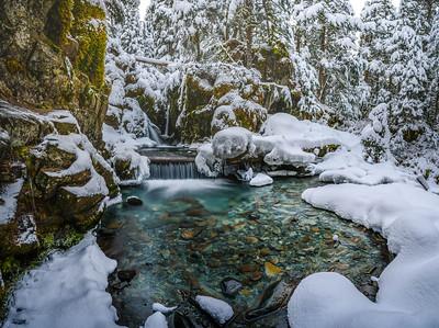 Virgin Creek Fall - Winter