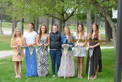 2014 Girls Varsity Lax Seniors