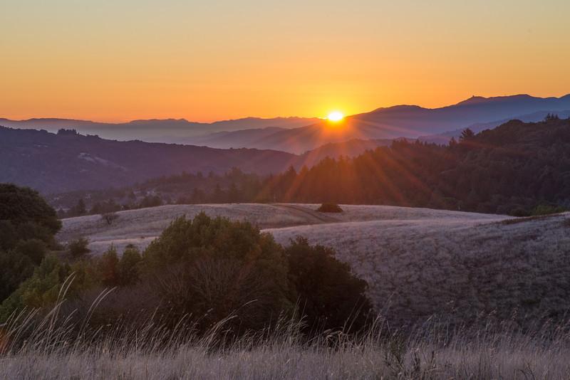 Winter Solstice Sunrise 2013