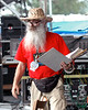 "Dave ""Pops"" Andrews of Andrews Audio on Stage 1 at the New Orleans Jazz & Heritage Festival in 2006."