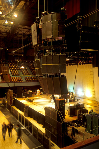 Meyer Sound MSL-10's,MSL-3's and 650 subs at Henry Kaiser Auditorium for Primus in 1993.