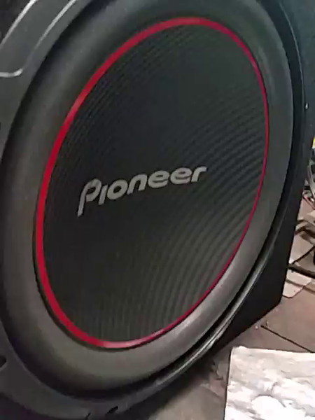 "VIDEO !     Just added a Pioneer - Champion TS-W254R Woofer - 250 W RMS/1100 W subwoofer mounted in a Metra - 12"" Single Sealed Subwoofer Enclosure (and stuffed with fiberglass) to the system.....(Best Buy $128 bucks for both the speaker and enclosure) though sound was ""good"", it didn't have any ""guts"" ....so this was necessary..and it sounds GREAT ! Here's how I wired it:Guys.....I bought a 4 channel radio about a year ago from Classic Car Stereo 1949-1950 Ford Radio, USA-630 (website says it ""fits"", but they just threw in a plastic cover plate to make it fit and it looked like shit...so I modified the dash to make it look half way decent) (and it has/had no output for subwoofer) and Sound Storm PSY1600.4 1600 Watt Full Range power amp and 4 Pioneer TS-A6995R -  6x9 speakers for THE JUDGE. After it was all hooked up and operating, I was not pleased with the lack of ""lows"" of the system, so I thought that it would be reasonable to add a subwoofer to the system to give it some GUTS.. well, I had no signal to work with........but then I thought........well, the radio has a set of 4 each channels - high level and low level outputs (low levels go to the power amp - and high levels go straight to the speakers directly if you don't have a power amp).. So I did an experiment today.  Here's what I did with the wiring. I removed the connections of the low level rear speaker input to the power amp and rewired them to the high level outputs from the radio then, since the power amp is the type that can be ""bridged"" (use the ""+"" from the rear left speaker and the ""-"" from the rear right speaker to drive the subwoofer - it's in the instructions for ""bridging"" the amp to drive a subwoofer)."