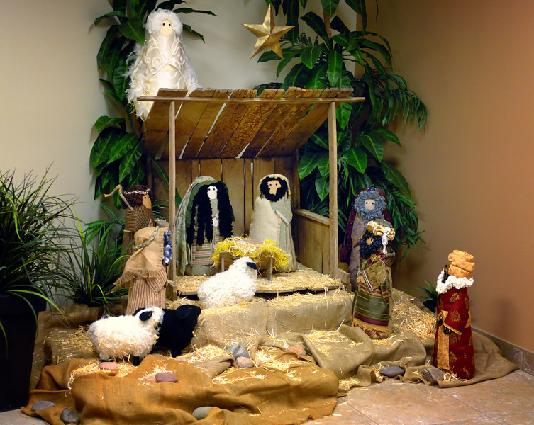 Nativity in the Lobby