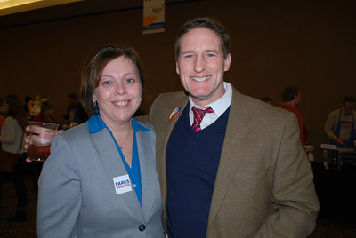 Lisa Parks and Judge Brad Karren