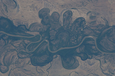 Mega Meanders of the Ural River