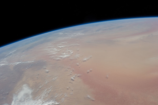Thousands of miles of red dunes.