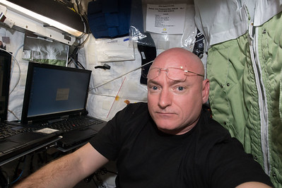 Thank you. Made it! Moving into crew quarters on @space_station to begin my #yearinspace. C2