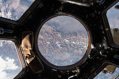 My first look out the window today. #YearInSpace