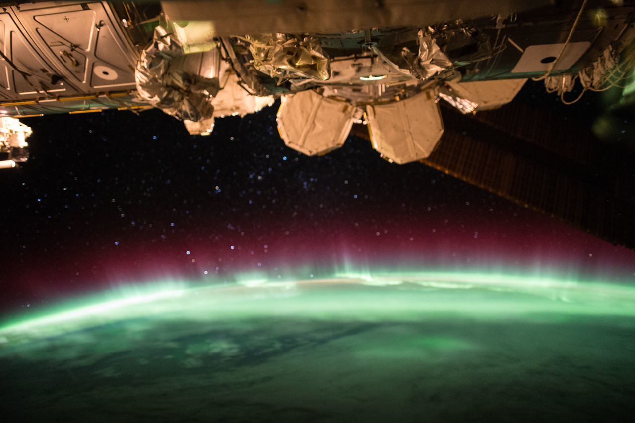 Aurora I don't think I will ever see another quite like you again. #YearInSpace