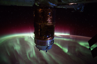 This #aurora is impressive! #YearInSpace.