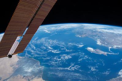 #Mediterranean Sea. You look quite refreshing this morning! #YearInSpace