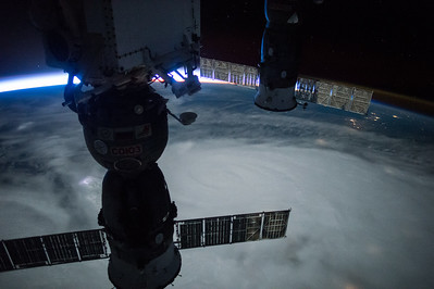Woke up in the night #Patricia update w latest view from @space_station Thoughts continue for all below #YearInSpace