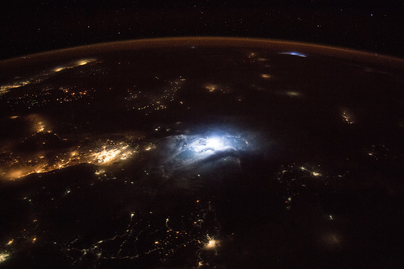 Lightning in Southeast Asia
