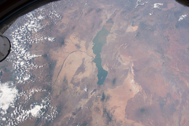 Lake Turkana, and the Turkana Basin, in the Kenyan Rift Valley