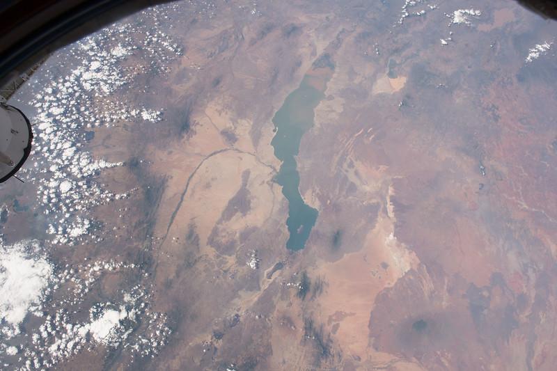Lake Turkana, and the Turkana Basin, in the Kenyan Rift Valley