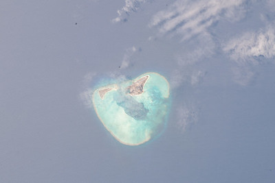 Midway Island in the Pacific Ocean