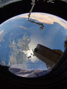 SpaceX Dragon CRS-15 over Greece
