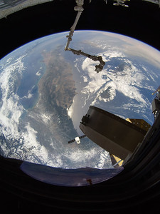SpaceX Dragon CRS-15 over northern Italy