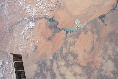 Aswan Dam and Lake Nasser, Nile River, Egypt