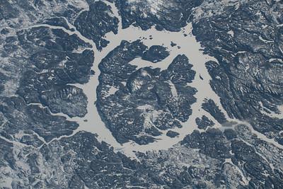 Manicouagan Crater, Quebec, Canada
