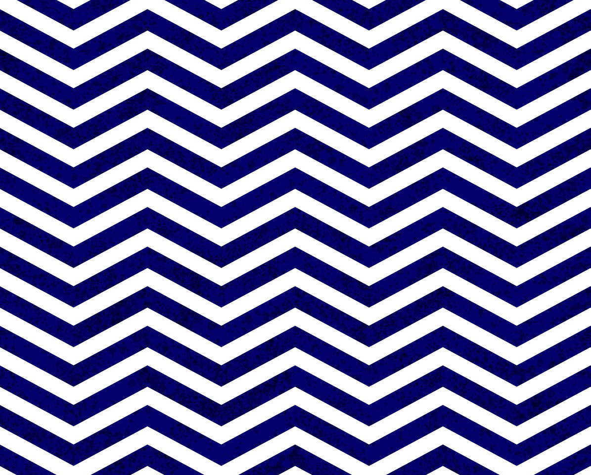 Blue Zigzag Textured Fabric Background