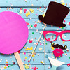 Party fun with photo booth accessories